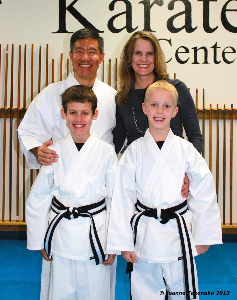 Karate family pic