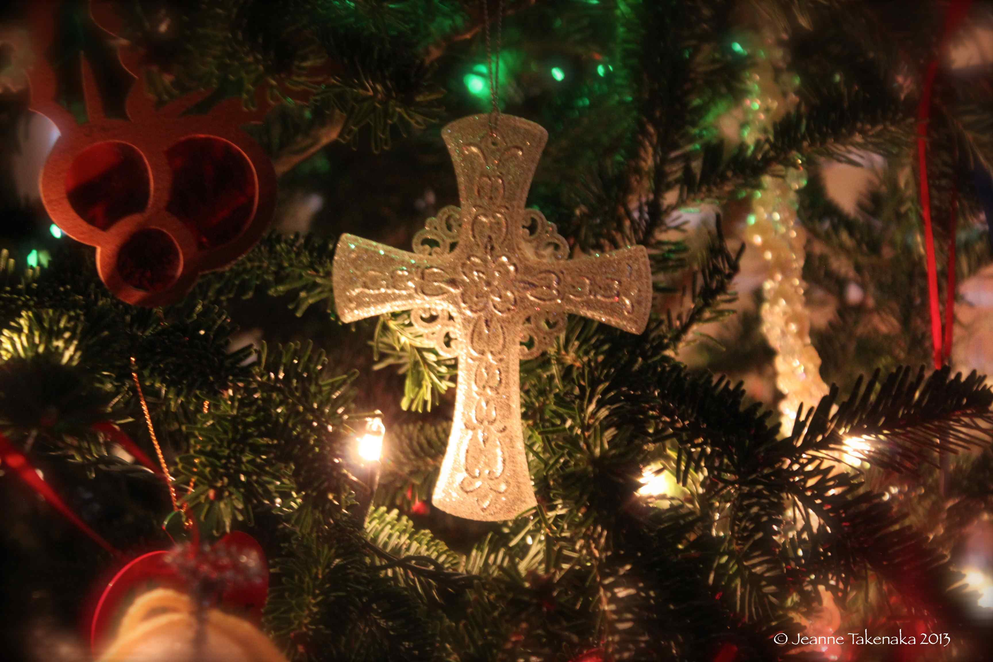 Christmas cross jesus the chaos of christmas doing or being in the