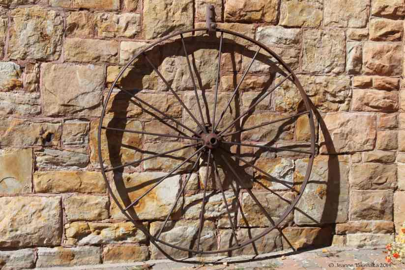 Wall and Wheel