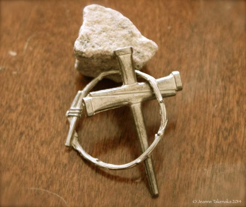 Crown Cross Stone