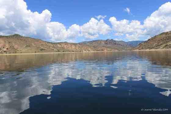 Blue Mesa Reflections
