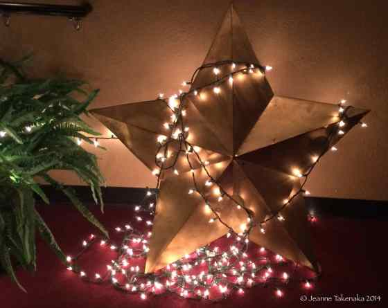 Lighted Star