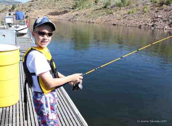 Edmund fishing