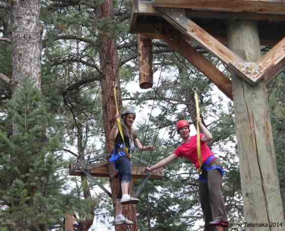 Phase 1 ropes course