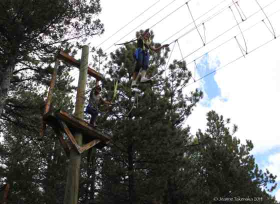 Phase 2 ropes course