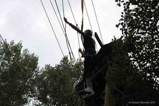 Phase 3 ropes course