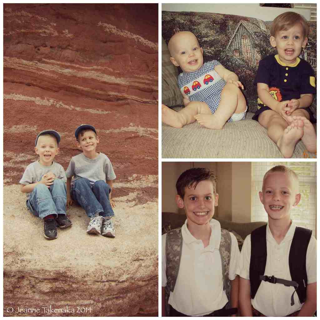Boys aging Collage copy
