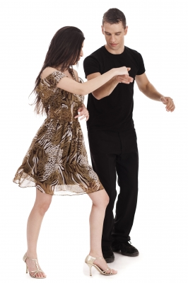 Couple Dancing Together by photostock copy