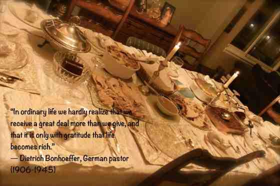 D Bonhoeffer gratitude makes life rich1