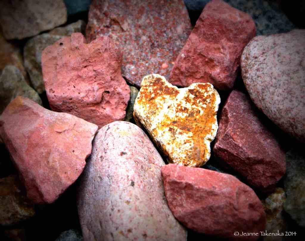 Heart amid red rocks copy