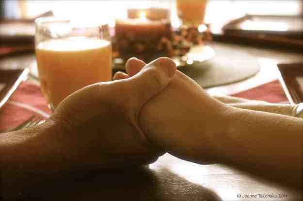 Prayerful hands
