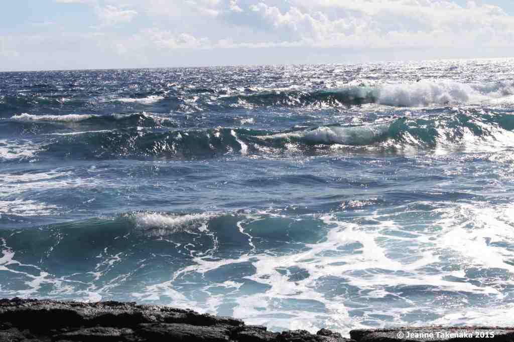 Big Island waves