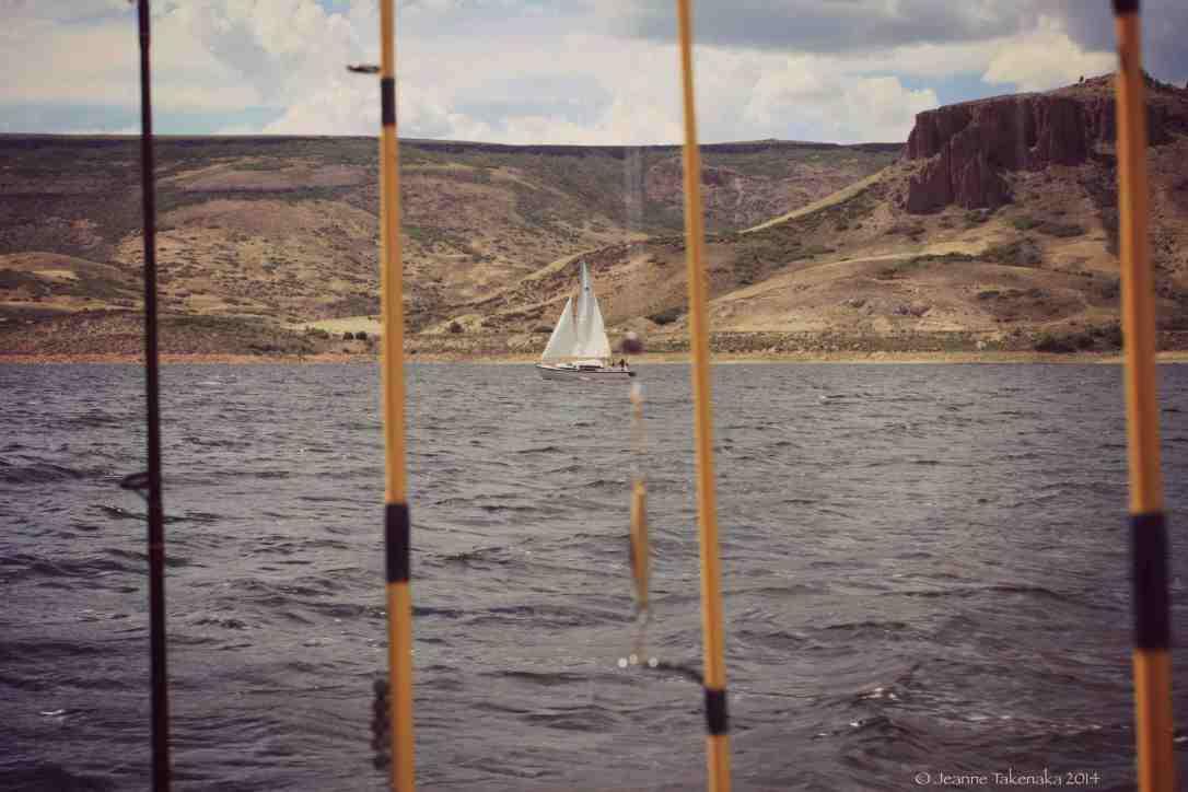 Fishin poles sail boat copy