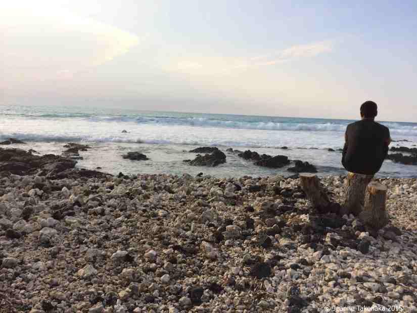 Seaside alone