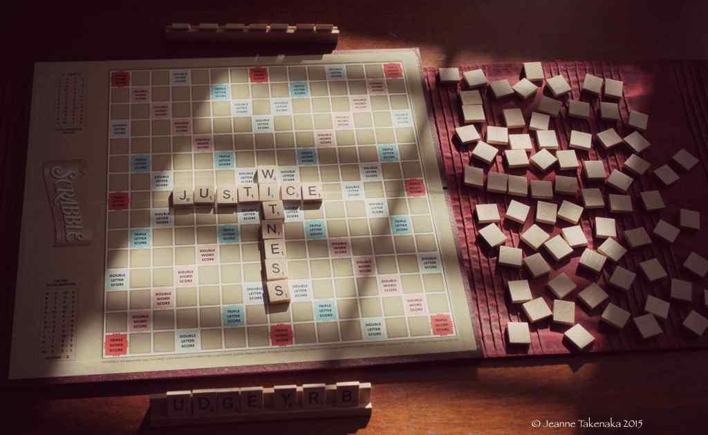 Scrabble justice 1