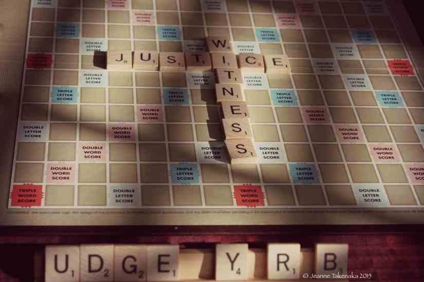 Scrabble justice 2