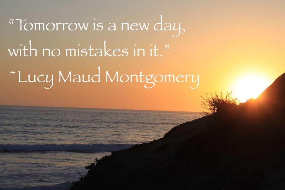 LM Montgomery tomorrow quote