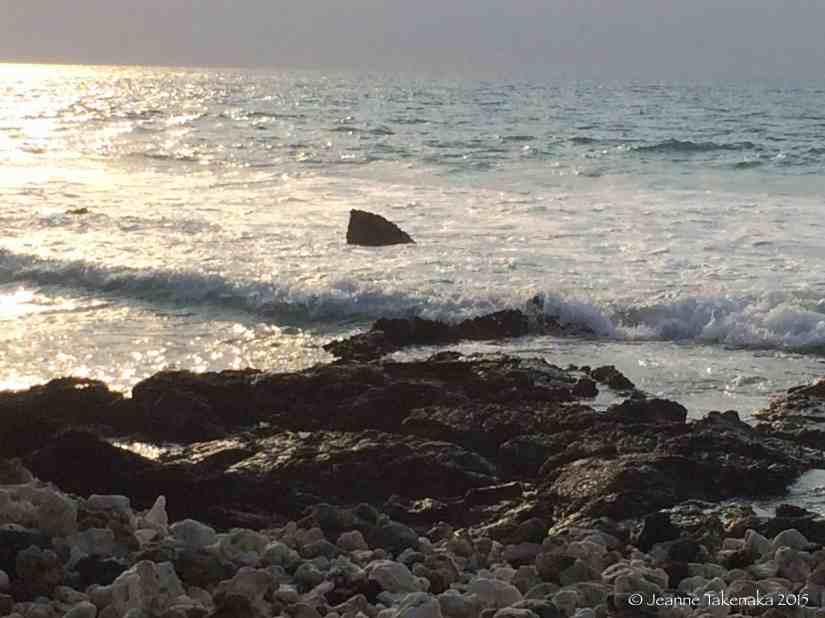 Rock in waves
