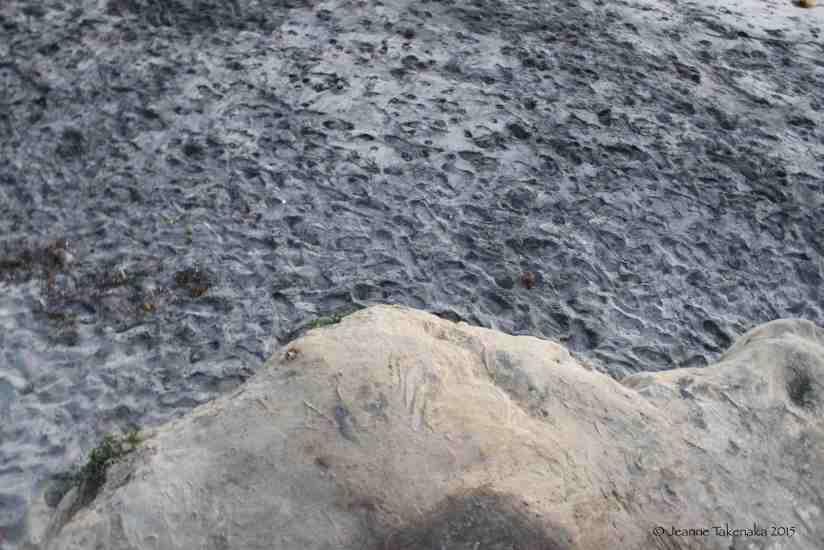 Boulder to sand