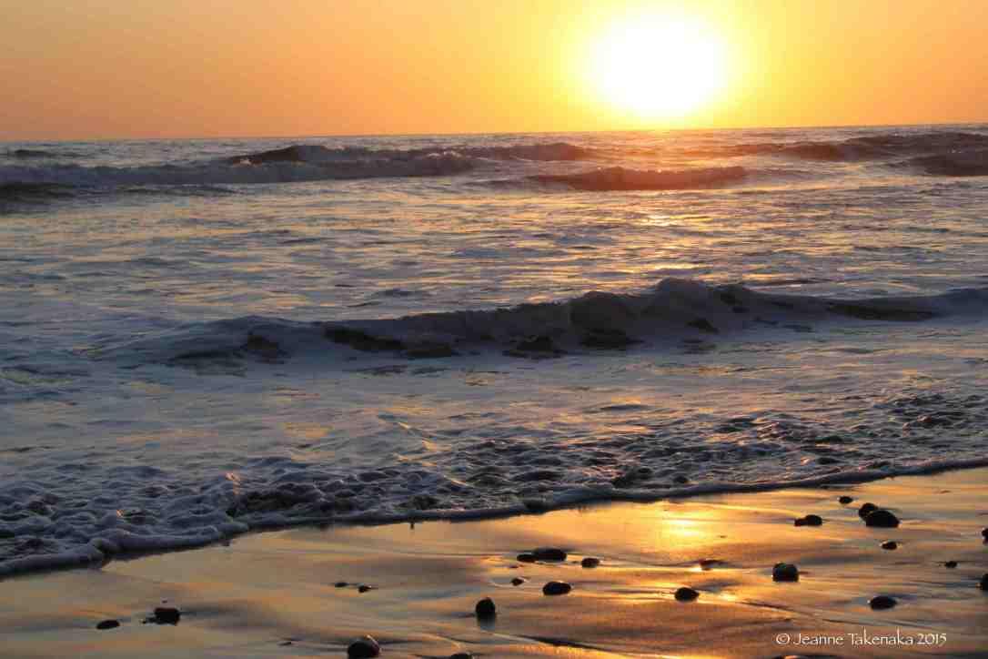 Tide rising
