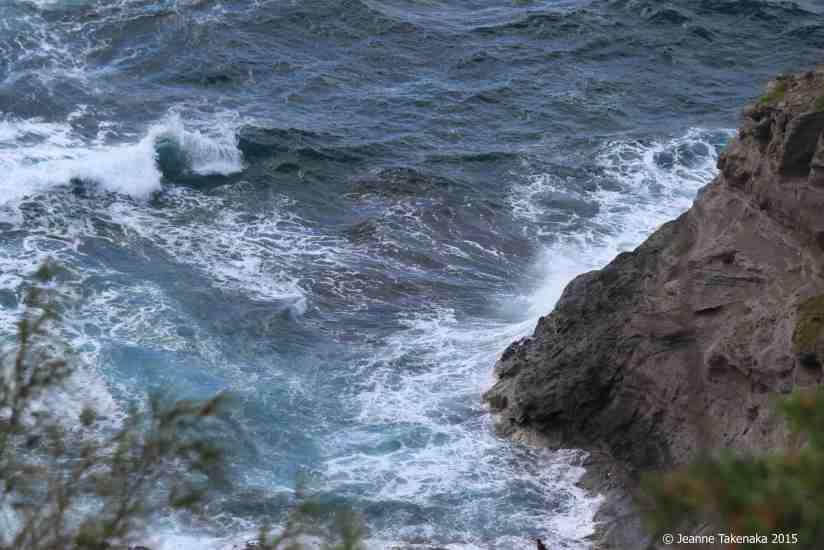 deep blue waves