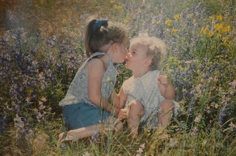 4. Girls in bluebonnets