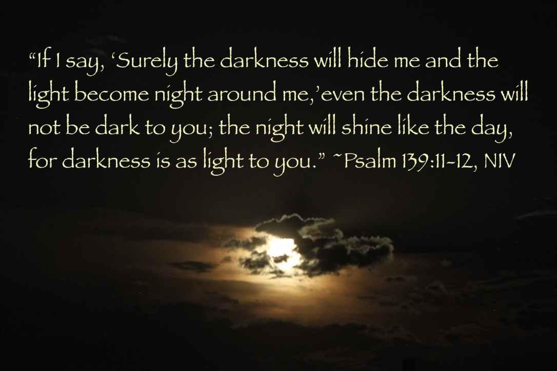 Psalm 139 moon shine