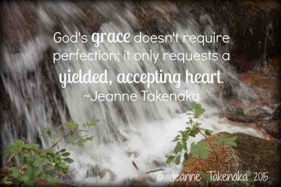 God's grace doesn't require perfection copy