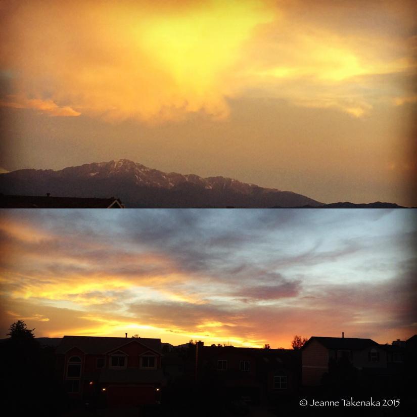 Summer gift Colorado sunset