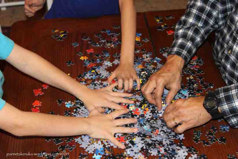 Puzzling together