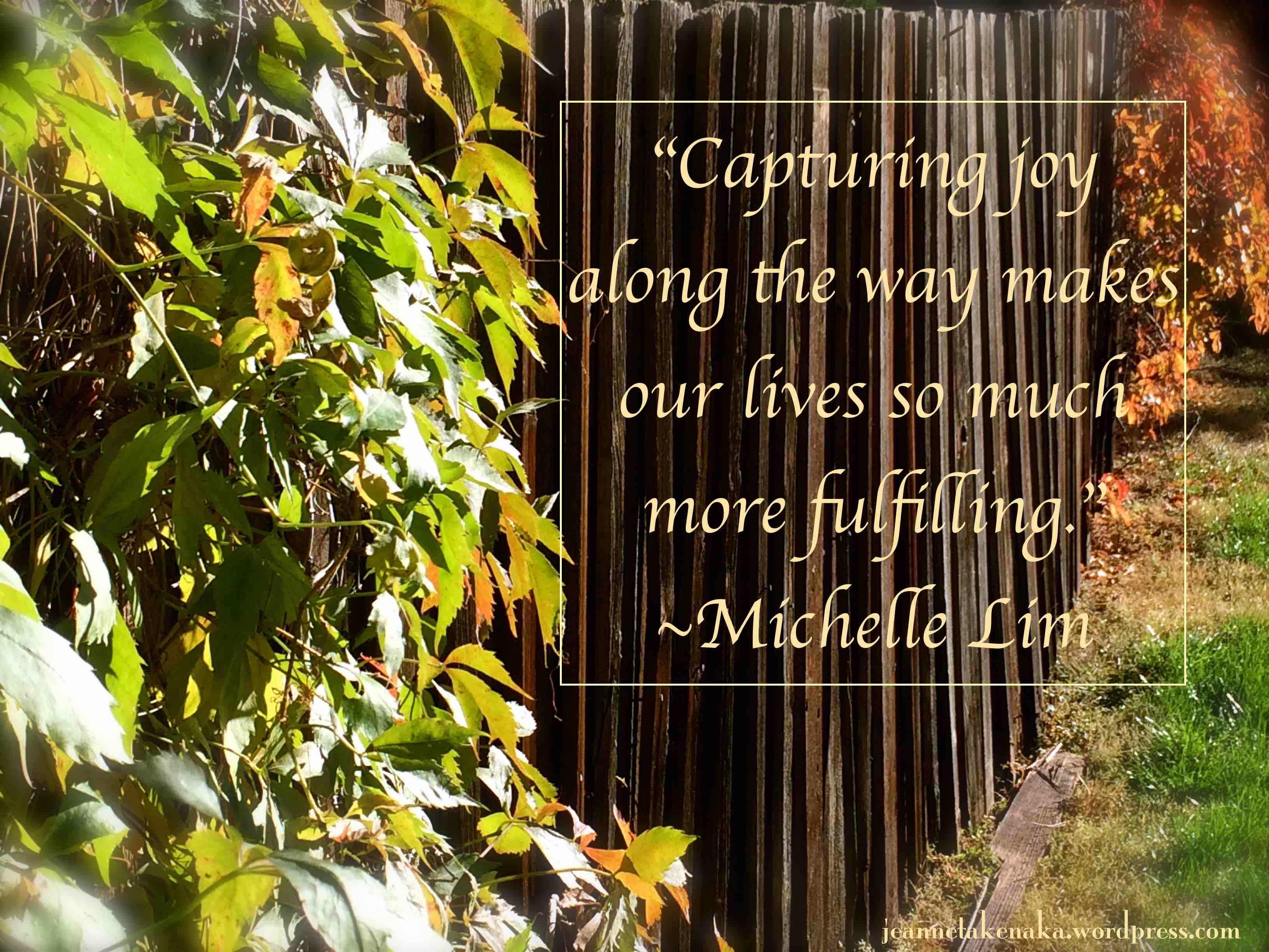 M Lim Capturing Joy