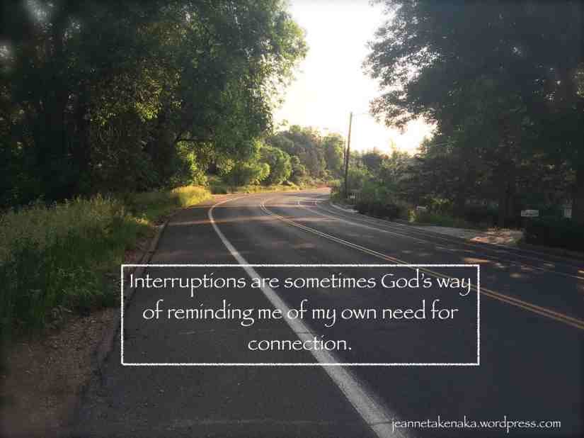 Interuptions God's way copy