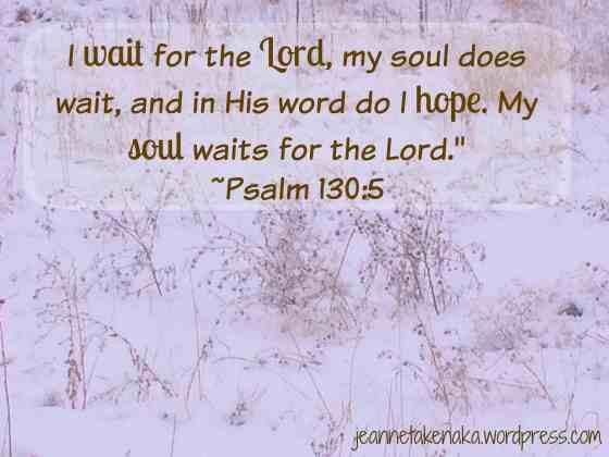 Psalm 130 Wait copy