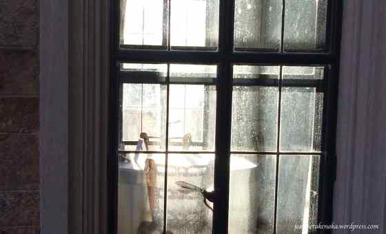 Cross in the window