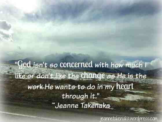 God and change quote