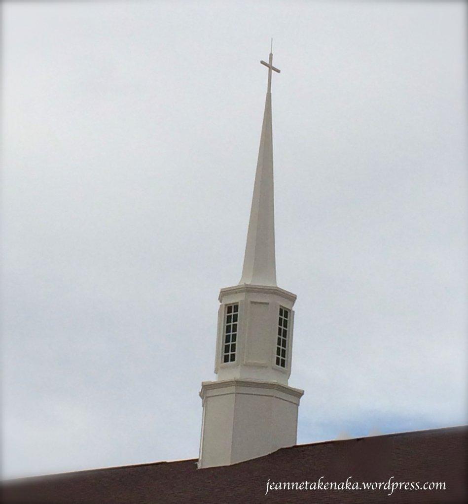 White steeple