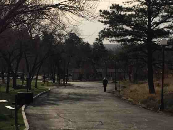walking a path solo