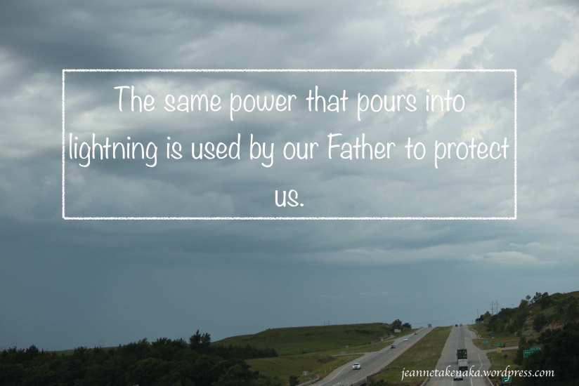 Gods power protects us copy