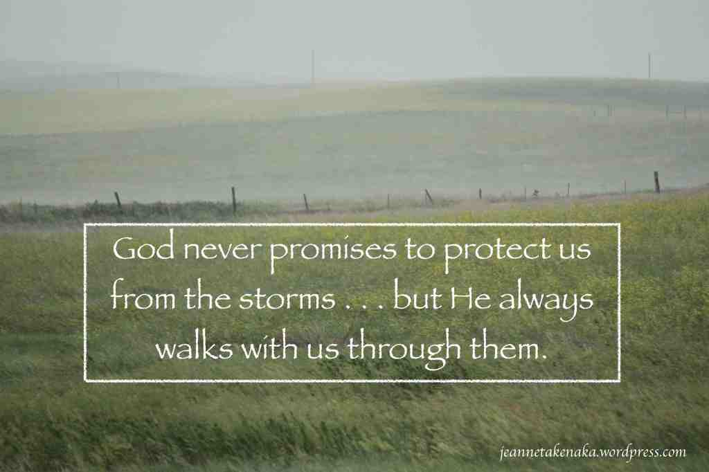 Gods walks through storms copy