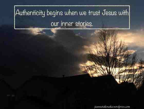 Authenticity begins copy