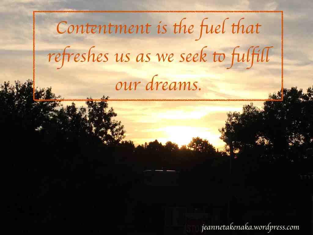 Contentment copy