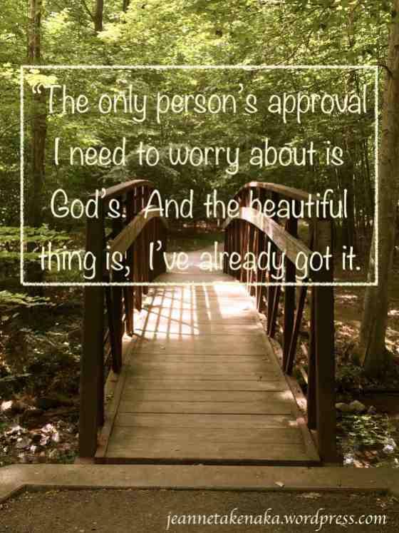 God's approval