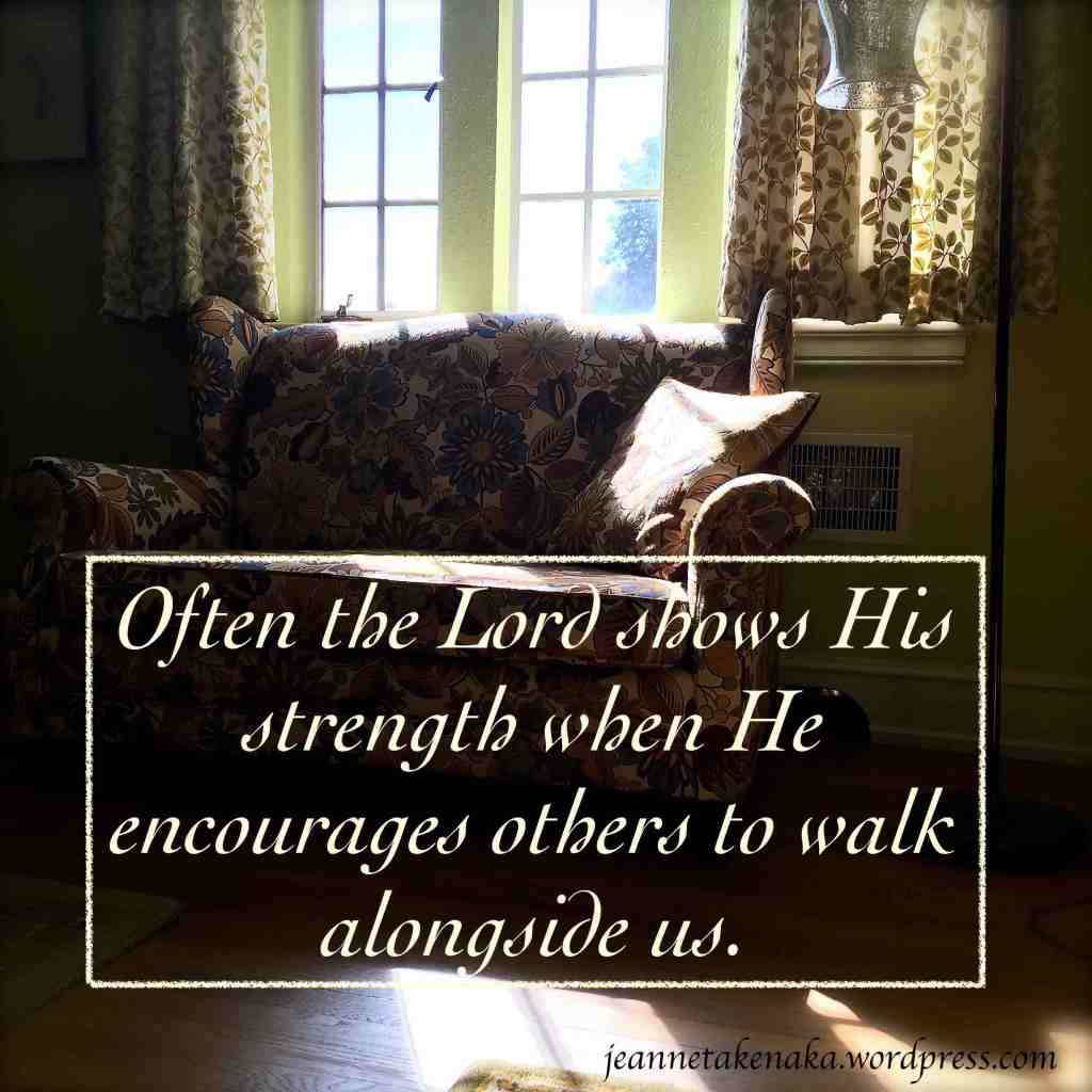 The Lord shows His strength