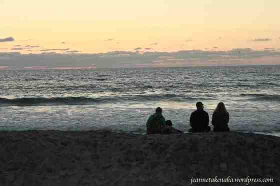 family-on-the-beach-dusk