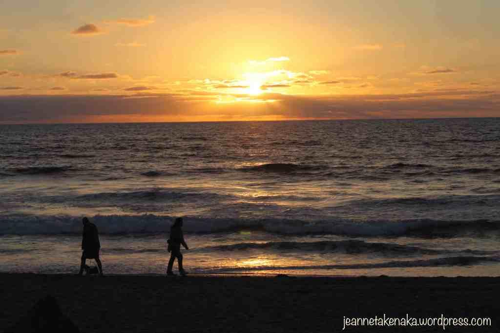 sunset-beach-walkers